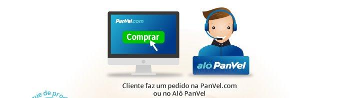 Cliente faz um pedido na PanVel.com