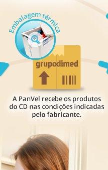 A PanVel recebe os produtos do CD Dimed nas condições indicadas pelo fabricante