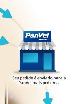 Seu pedido é enviado para a PanVel mais próxima.