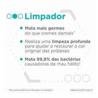 Limpador De Dentadura Corega Tabs Branqueador C/6 Comprimidos