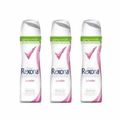 62e68693ee Compre Desodorante Aerossol Rexona Comprimido Powder 56g 85ml - Ganhe  Desconto