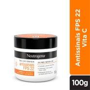 Creme Facial Neutrogena Face Care Intensive Antissinais Fps 22 100g