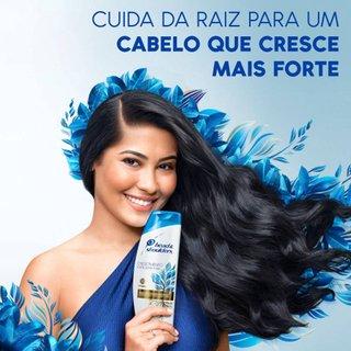 Shampoo Crescimento Forte Head & Shoulders Vitamina E 400ml