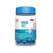 Magvit 1000mg 60 Cápsulas - Suplemento De Magnésio E Vitamina B6 Em Cápsulas
