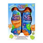 Kit Shampoo E Condicionador Azul Neon Beauty Slime Com 200ml Cada