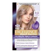 Tintura Imédia Excellence Blonde Suprême 9.12 Louro Muito Claro Pérola
