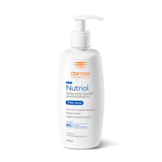 Sabonete Líquido Dermatológico Nutriol Pele Seca 240ml