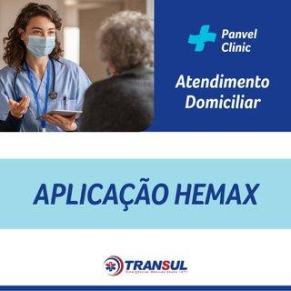 Aplicacao Hemax Domic Transul Poa