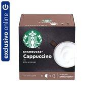 Café Em Cápsula Starbucks Dolce Gusto Cappuccino 12 Cápsulas