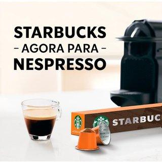 Café Em Cápsula Starbucks Nespresso House Blend Lungo 10 Cápsulas