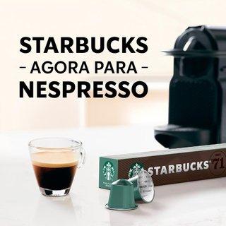 Café Em Cápsula Starbucks Nespresso Pike Place Roast 10 Cápsulas