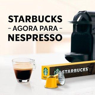 Café Em Cápsula Starbucks Nespresso Blonde Espresso Roast 10 Cápsulas