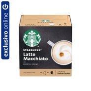 Café Em Cápsula Starbucks Dolce Gusto Latte Macchiato 12 Cápsulas