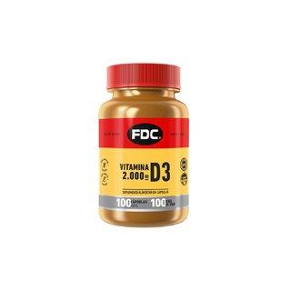 Vitamina D Fdc 2000ui 100 Cápsulas