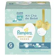 Kit Cha De Bebe Pampers Premium Care G