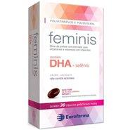 Multivitamínicos Gestante Feminis 30 Cápsulas Gelatinosas