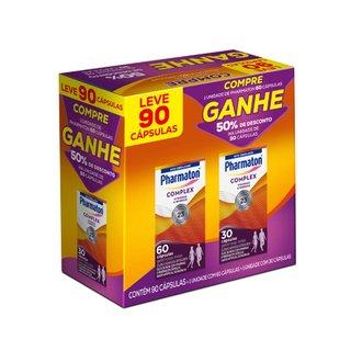 Kit Multivitamínico Pharmaton Complex 60 + 30 Cápsulas
