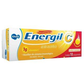 Vitamina C Energil C Ems 1g 10 Comprimidos Efervescentes