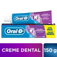 Creme Dental Oral-b Escudo   Antiaçúcar 150g