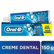 Creme Dental Oral-b 4 Em 1 150g