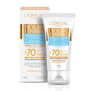 Protetor Solar Facial L'oréal Expertise Toque Limpo Com Cor Fps70 40g