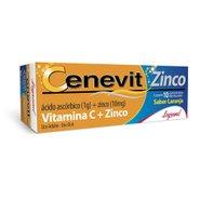 Cenevit Zinco 1g + 10mg 10 Comprimidos Efervescentes