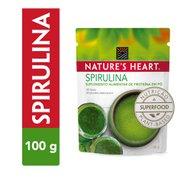 Suplemento Spirulina Natures Heart 100g