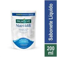 Sabonete Líquido Palmolive Nutri-milk Hidratação Prolongada Refil 200ml