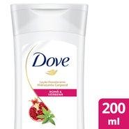 Loção Hidratante Corporal Dove Romã & Verbena  200ml