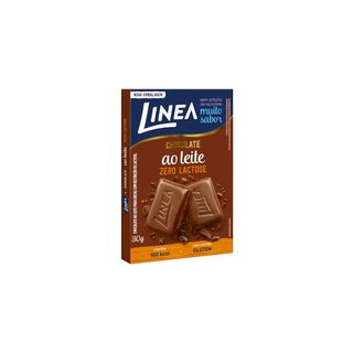 Chocolate Leite Zero Lactose Linea 30g