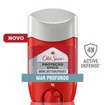 Desodorante Stick Old Spice Antitranspirante Proteção Épica Mar Profundo 50g