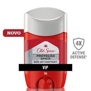 Desodorante Em Barra Antitranspirante Old Spice Proteção Épica Seco 50g