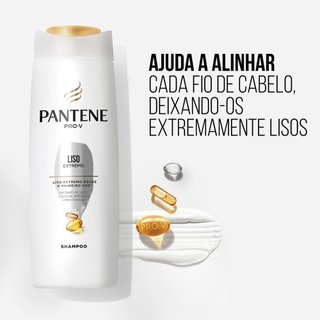 Kit Pantene Liso Extremo Shampoo 350ml + Condicionador 3 Minutos Milagrosos 170ml