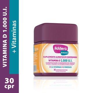 Addera + Vitaminas 30 Comprimidos Revestidos