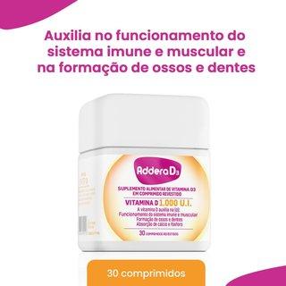 Addera D3 1000ui 30 Comprimidos Revestidos