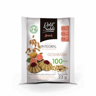 Snack Integral Goiabada Petit Sable23g