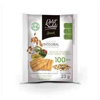 Snack Salgado Ervas Provence Oliva Petit Sable 23g