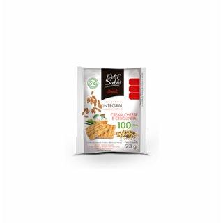 Snack Integral Cream Cheese E Cebola Petit Sable 23g