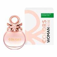 Eau Toilette Benetton Colors Rose Woman 50ml