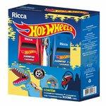 Kit Ricca Hot Wheels Turbinado Dinossauro Shampoo 300ml + Shampoo 3 Em 1 300ml