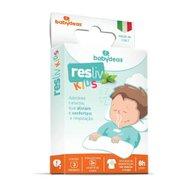 Adesivos Naturais Para Alívio E Conforto Nasal Babydeas Resliv Kids Com 5 Unidades