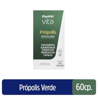 Própolis 400mg Panvel Vita 60 Cápsulas