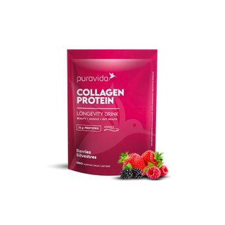 Colageno Protein Puravida Berries Silvestres 450g