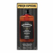 Kit Shampoo Qod Whiskey 2 Unidades Com 220ml Cada