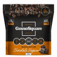 Granola Low Carb Grano Square Chocolate Vegano 70% 200g