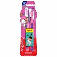 Escova Dental Colgate Smiles Agnes E Fluffy 6 Anos+ Com 2 Unidades