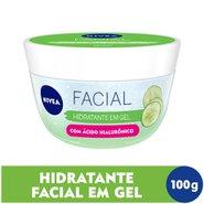 Hidratante Em Gel Nivea Facial Com Ácido Hialurônico E Pepino 100ml