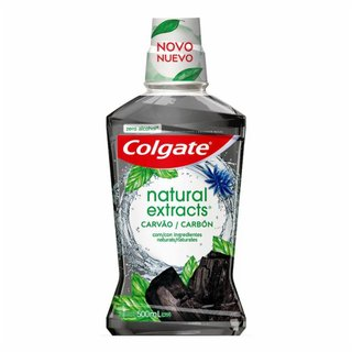 Enxaguatório Bucal Colgate Natural Extracts Carvão 500ml