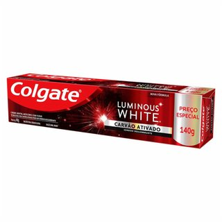 Creme Dental Colgate Luminous White Carvão 140g