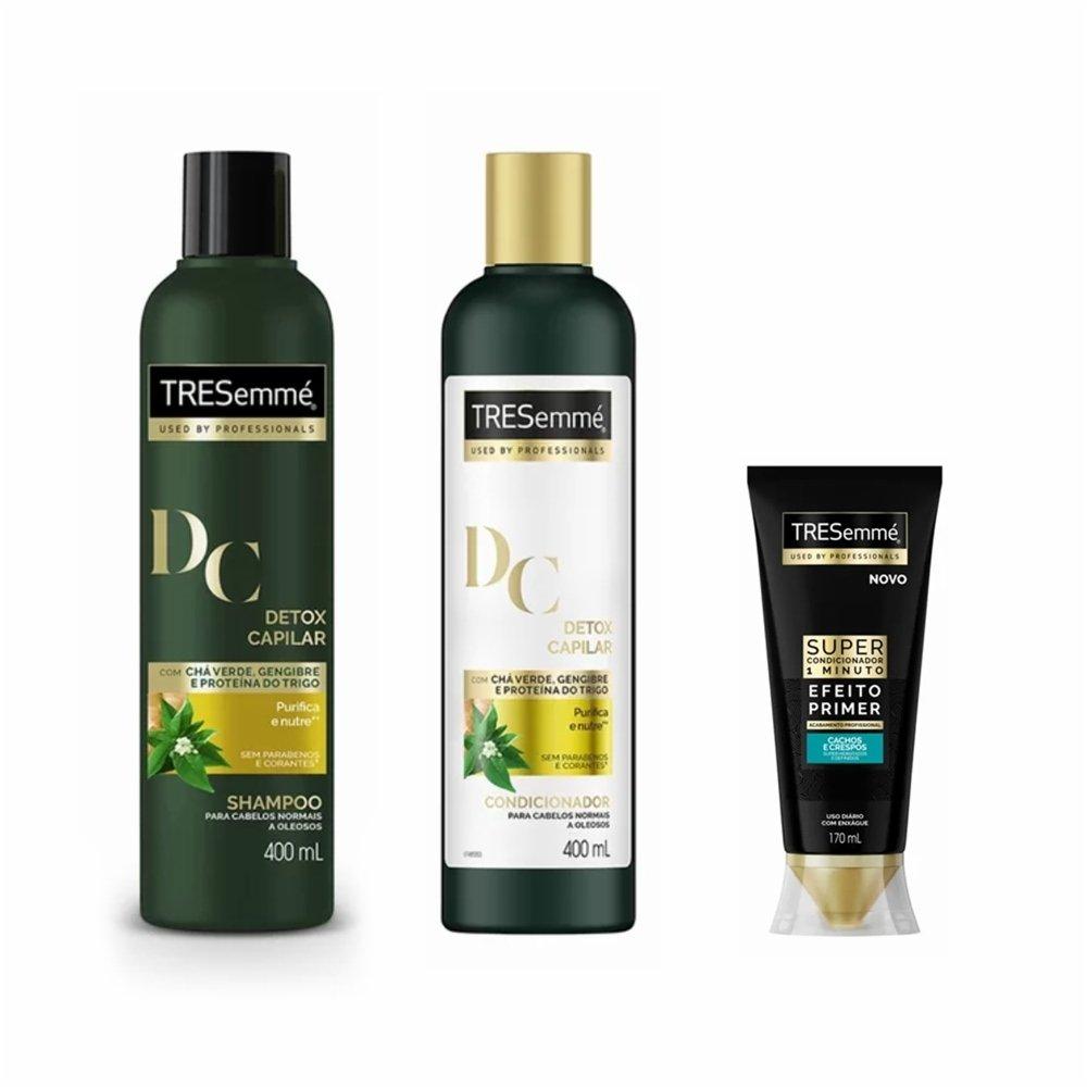 5a8b81ca1 Compre Shampoo + Condicionador Tresemme Detox - Ganhe Desconto No Super  Condicionador Tresemme Crespos e Cacheados 170ml - PanVel Farmácias